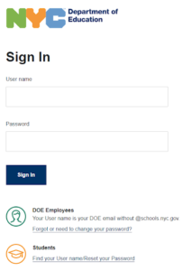 NYC DOE Email Login